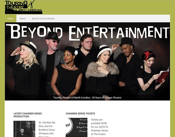 Touring Theatre of NC Website
